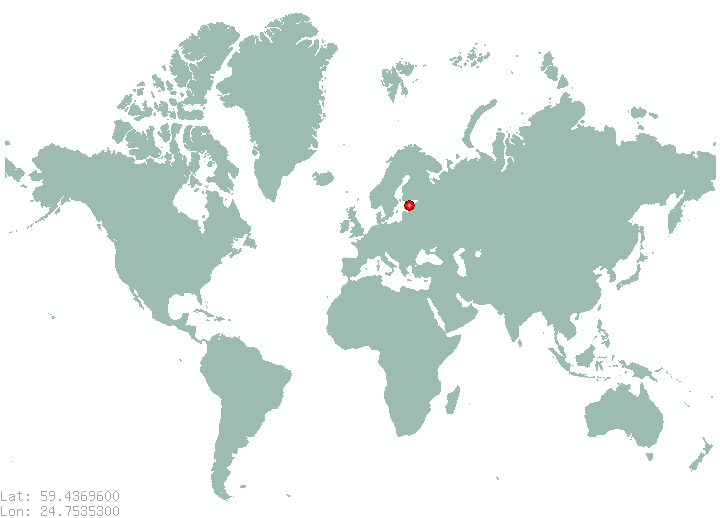 Places in estonia find information on all places in estonia tallinn in world map gumiabroncs Choice Image